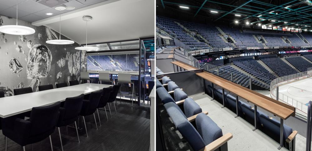 NHL ottelun –  Parhaat   Aitiopaikat kahdelle   koko kattauksella aitioon