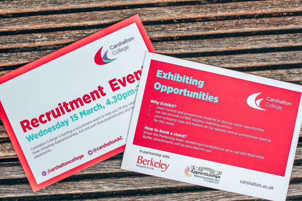 recruitment event flyer