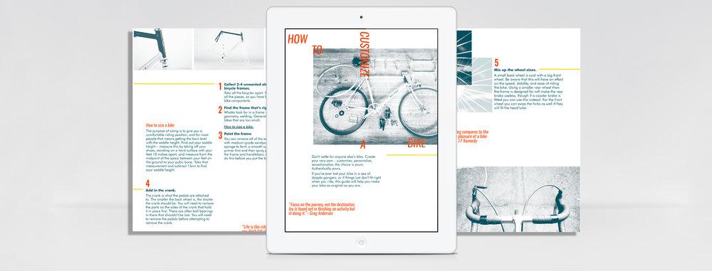 Ipad magazine publication