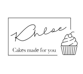 homemade cupcake logo branding