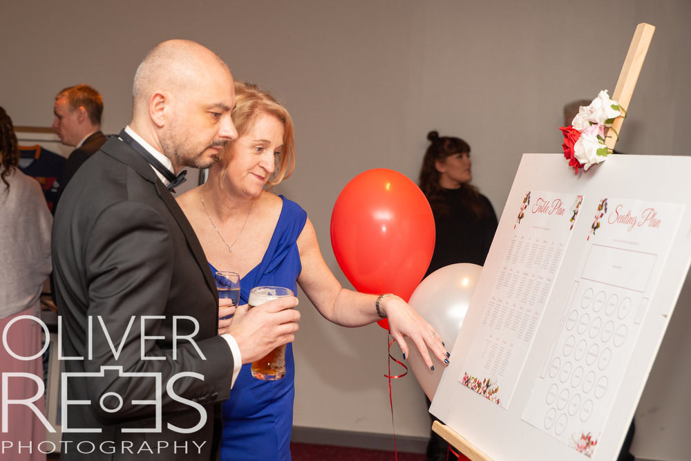 British Heart Foundation Event - Boards & Table Plan