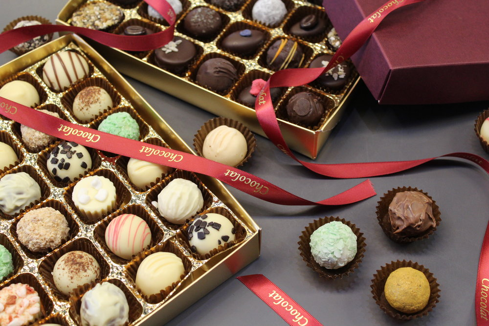 Devine Handmade Chocolates - Which ones will you choose?
