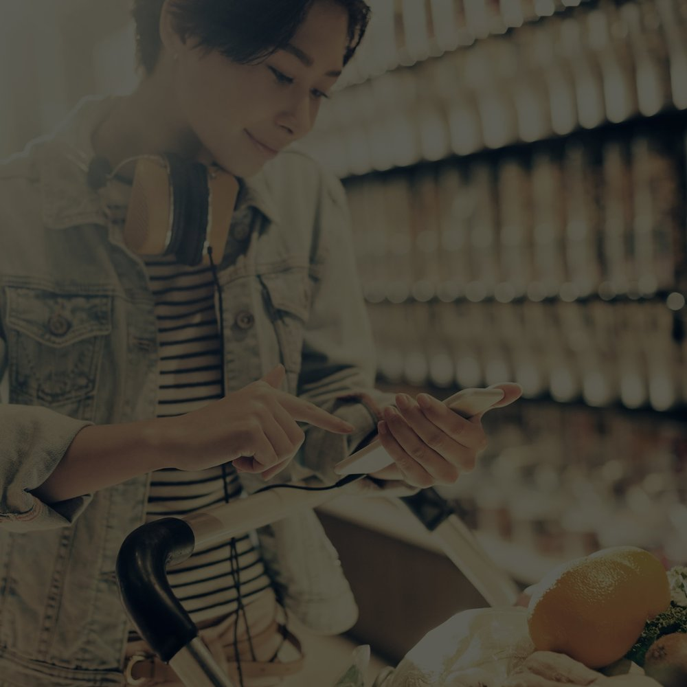 1 / Competitive Landscape - We look at the marketplace and your key competitors to identify where your brand sits with your target. We go to where your product is sold to see if there are any shelf-level issues.
