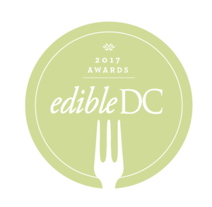 2017 Best Use of Local Ingredients Judges' Choice - edible dc award winner