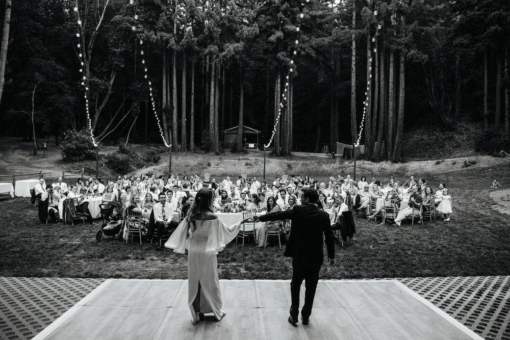 Sarah Kuszelewicz Photography New York City International Elopement Lifestyle Wedding Photographer YMCA Camp Campbell California Redwood Forest Wedding
