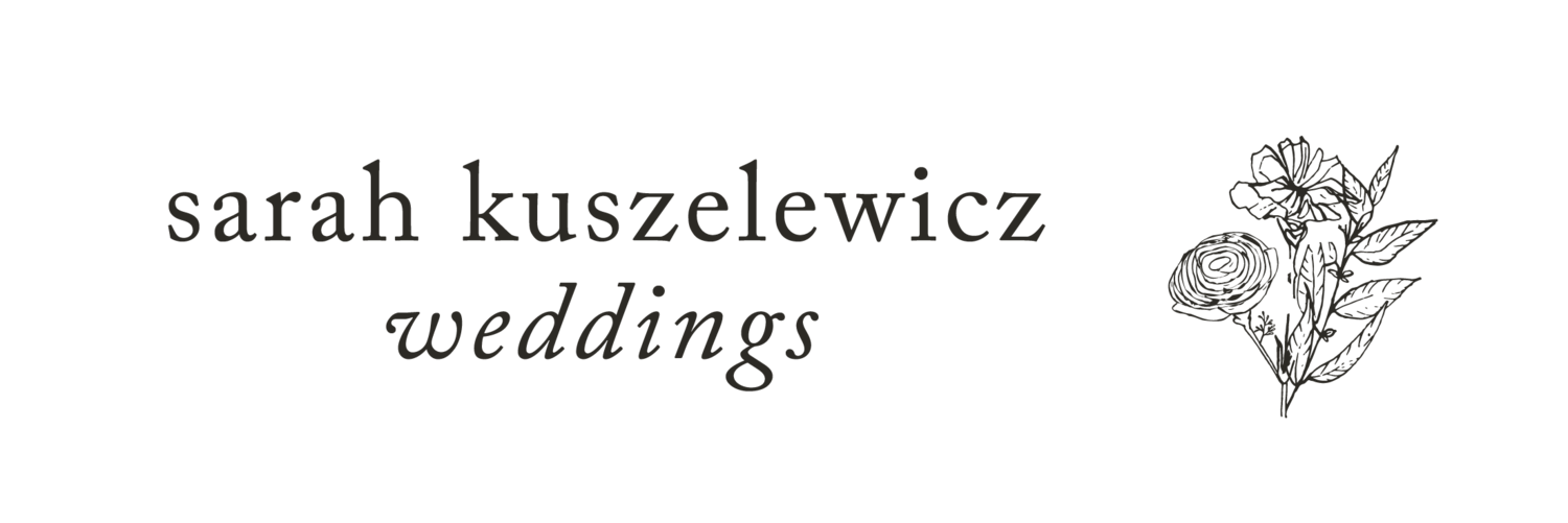 sarah kuszelewicz weddings