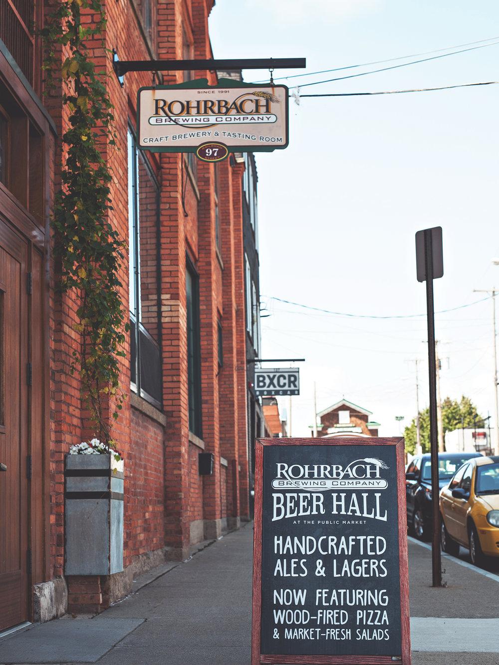 Rohrbach at Rochester Public Market