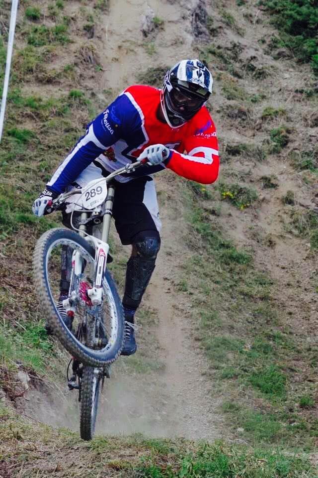 Tim Garret Championnat de France de Vélo de Descente