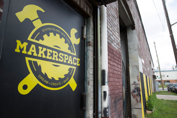 Staten Island MakerSpace - The Staten Island MakerSpace is a non-profit community workshop that offers builders, artists, entrepreneurs and more the tools needed to bring their ideas to life.450 Front Street, Staten Island, NY 10304makerspace.nyc
