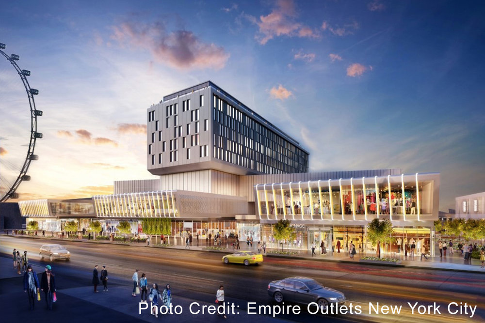 Empire Outlets - The Empire Outlets is New York City's first and only outlet shopping destination, and the centerpiece of attractions in St. George. Opening in Spring 2019.55 Richmond Terrace, Staten Island, NY 10301Empireoutletsnyc.com