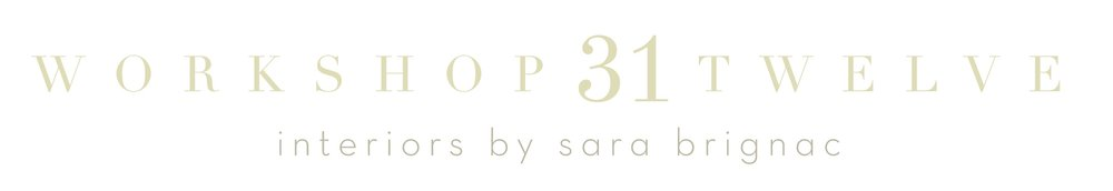 Workshop 31 Twelve | Interiors by Sara Brignac
