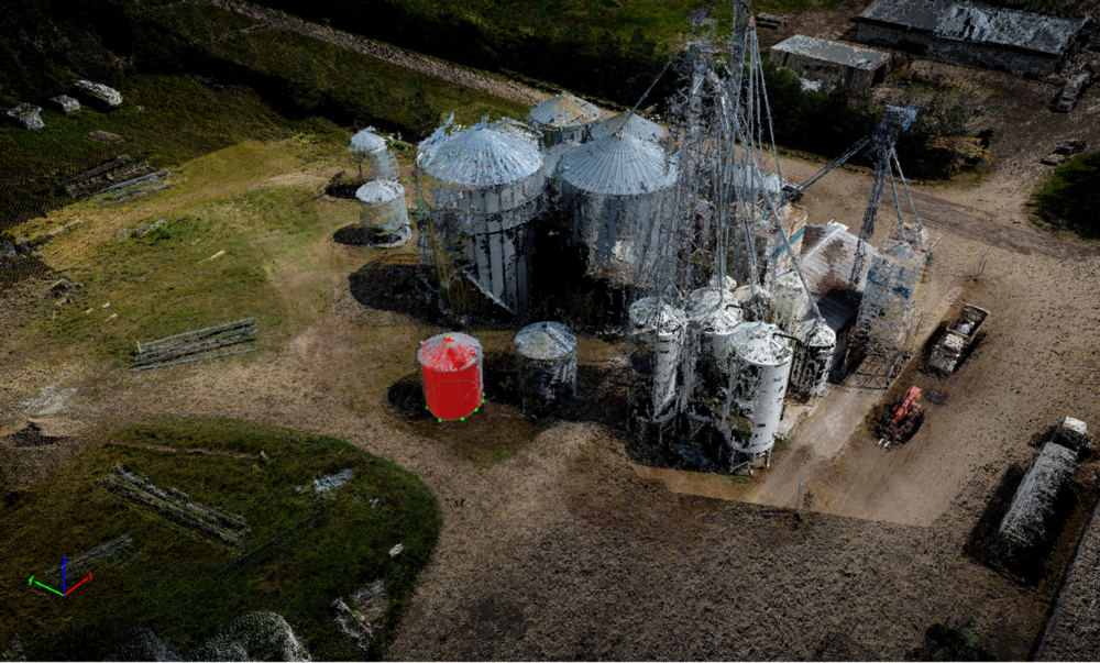 Our 3D Pointcloud models give you the ability to measure volumes to extremely accurate precision.