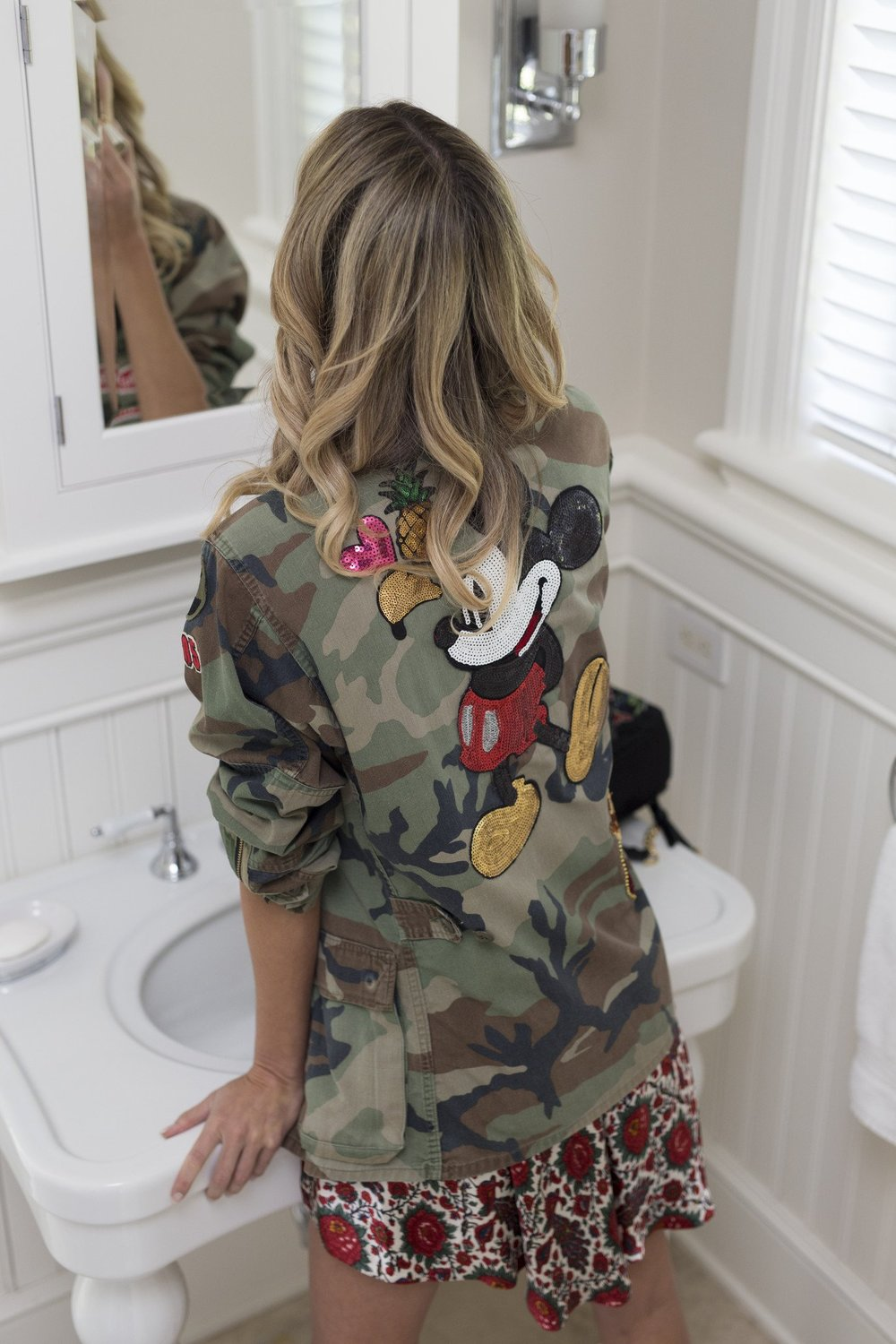 BEE A MICKEY CAMO JACKET