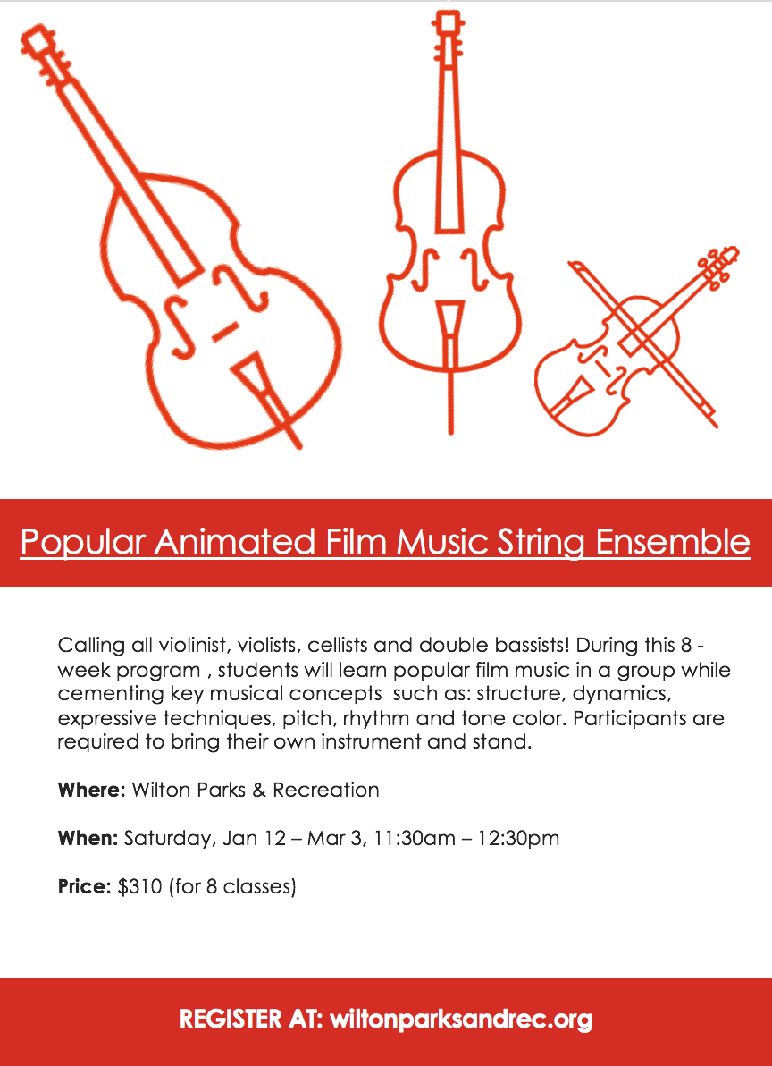 Music Ensemble Program at Wilton Parks and Recreation