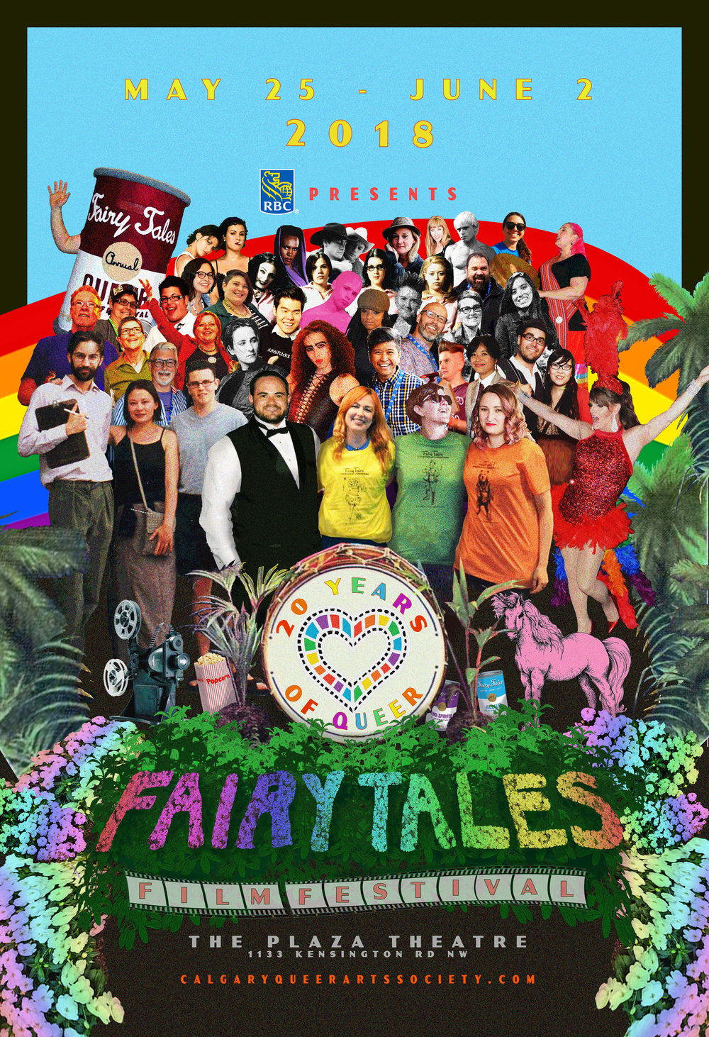 We are quickly approaching our 20th Annual Fairy Tales Calgary's Queer Film Festival! - From May 25 - June 2, enjoy our diverse section of queer-centric movies, documentaries, short films, panel discussions, and more exciting events!In order for you to maximize your festival experience, we have created a list of important FAQs that cover some of the top questions we receive each year. If you still have a burning question after reviewing our FAQs, please don't hesitate to get in touch!