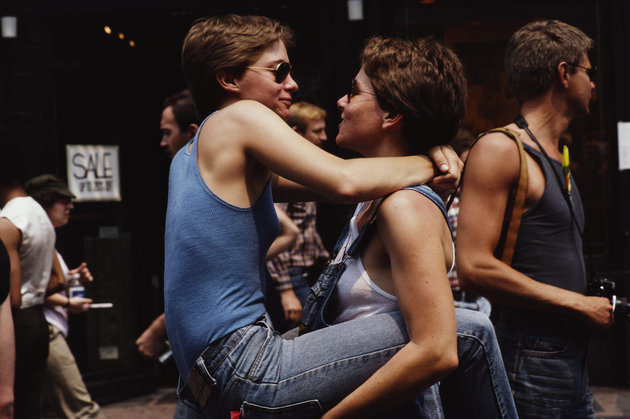 - 7. Huffington Post took us a on a trip down memory lane with these amazing photographs of Pride celebrations throughout the years!