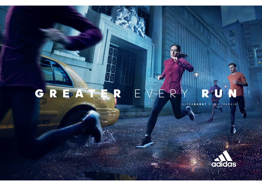 Adidas Ultra Boost 2017 Campaign | Photographer: Mark Seliger