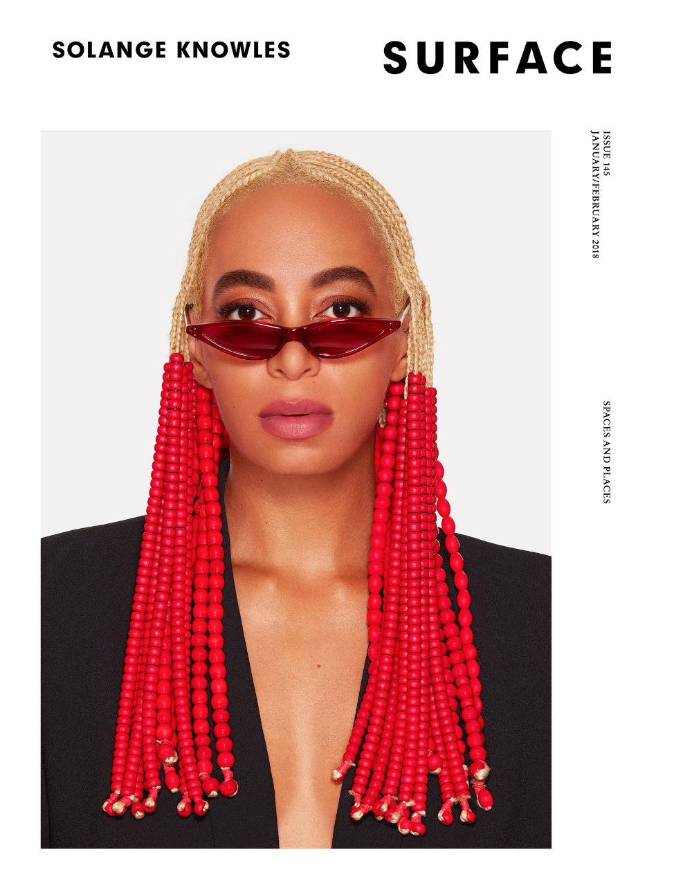Solange Knowles - Surface Magazine  Photography Andrew Zuckerman