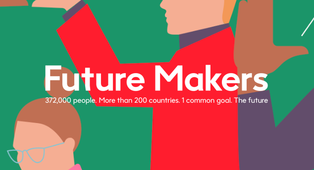 Future Makers. A content platform for a global tech company -