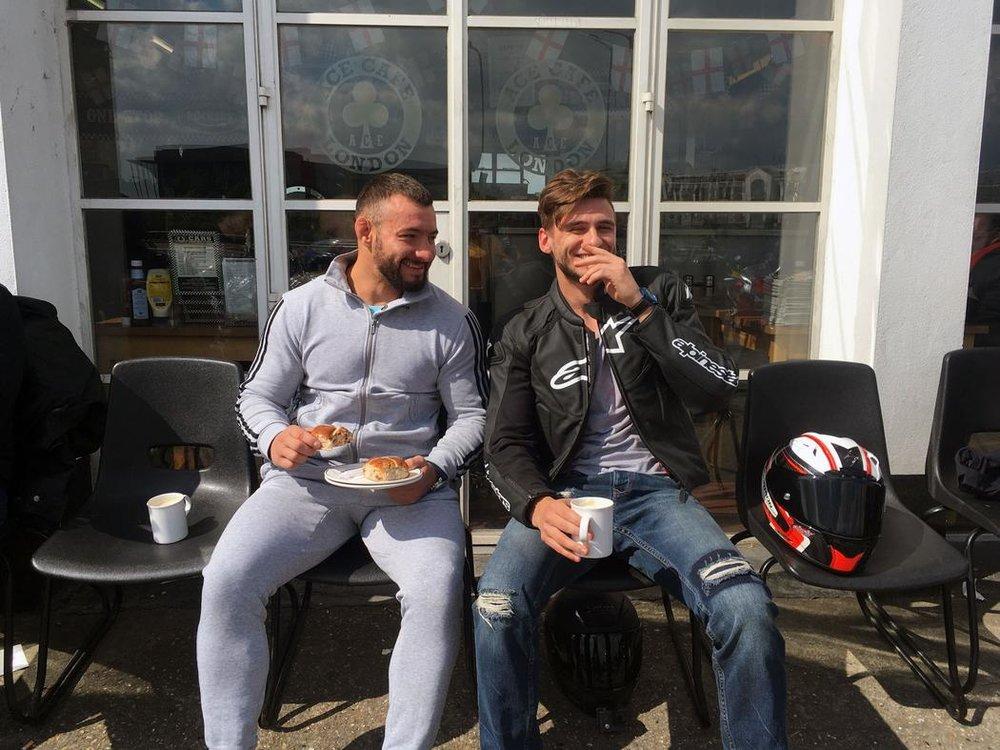 A Biker Hangout Keeping-Roadside Cafe Food Alive -