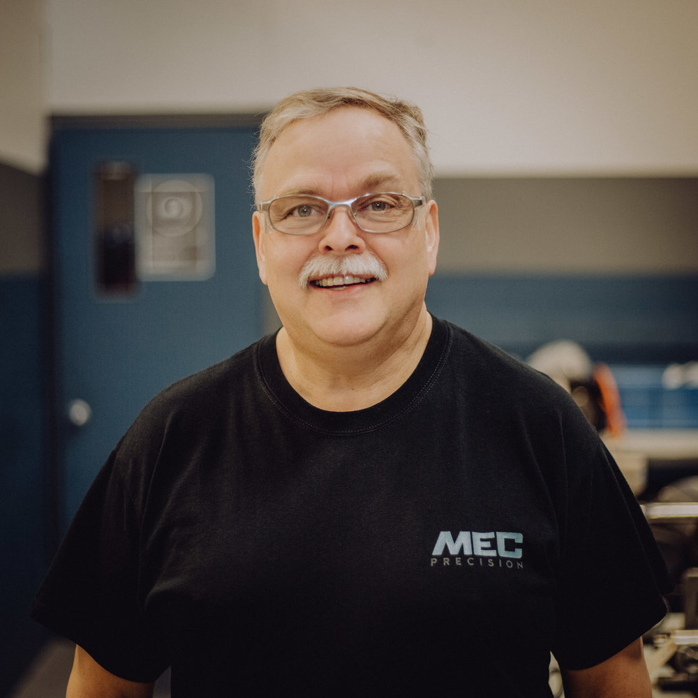 Rodney Rychard - Spindle Technician