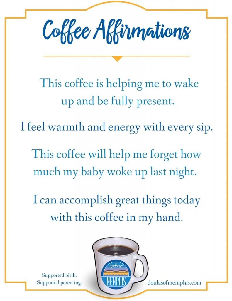 coffee affirmations