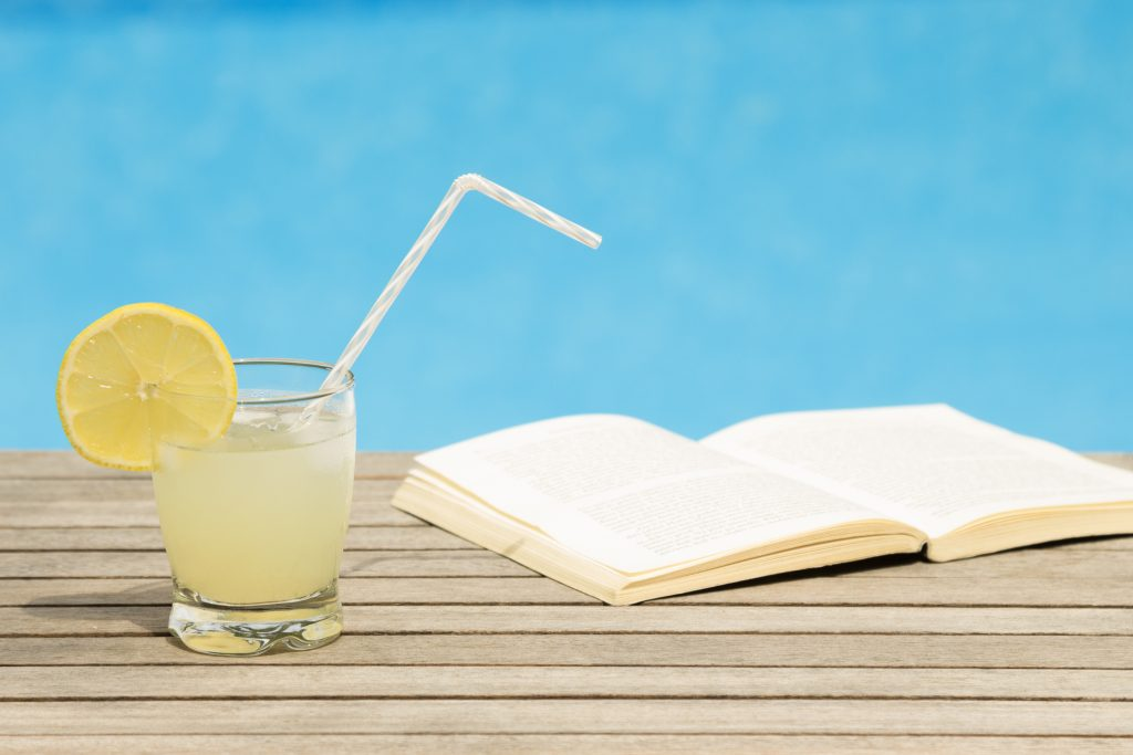 poolside lemonade