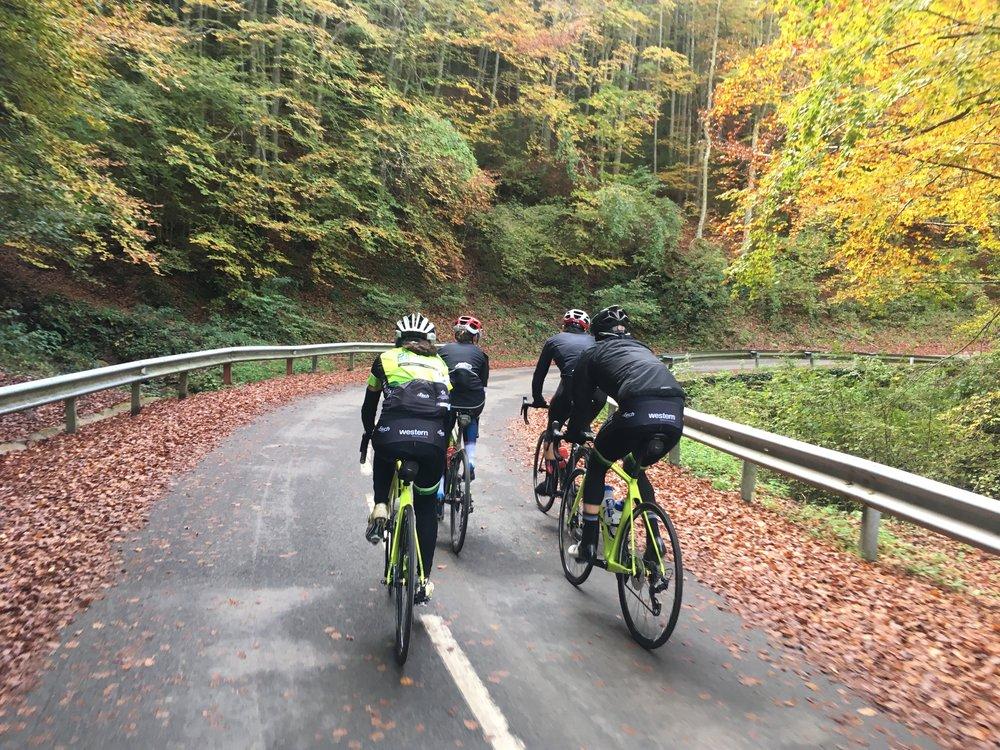 Girona winter cycle trip