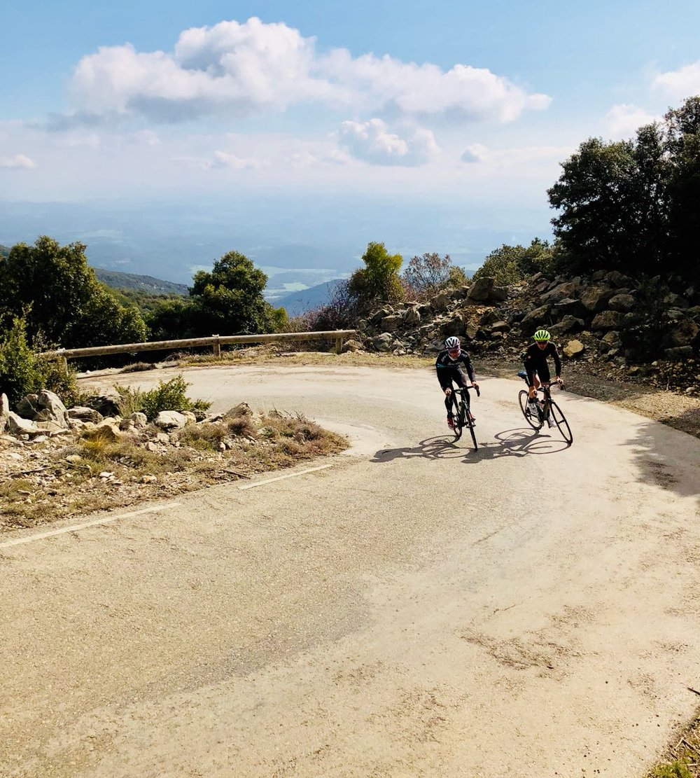 Winter cycle training spain