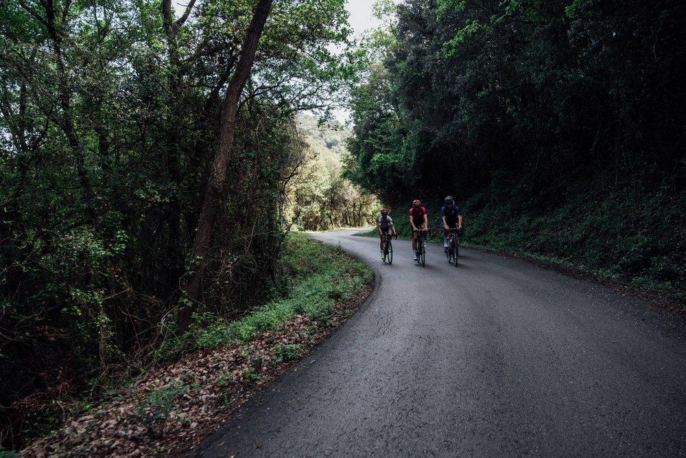 Rocacorba Climb slopes