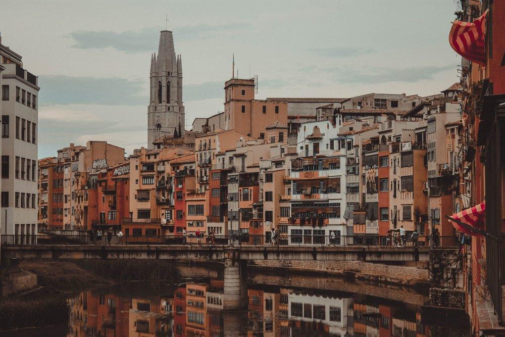 Girona town