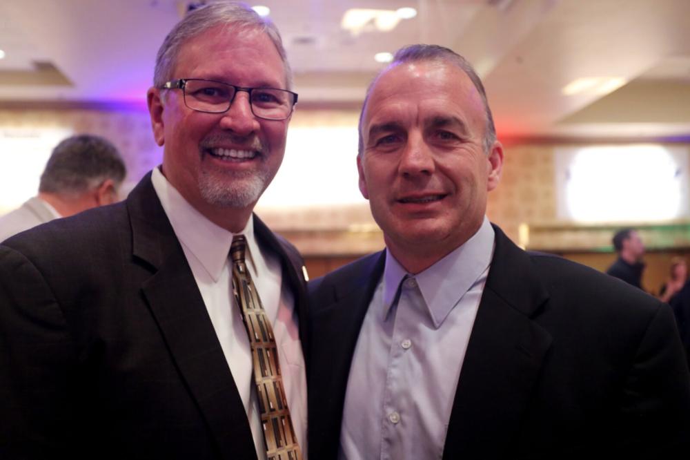 Todd Koch and Russ James  Todd Koch Retirement Roast  Circus Circus Hotel, February 24, 2018