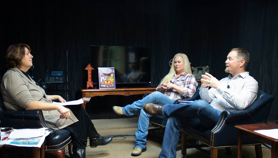 Trade union representatives Rob Benner and Michelle Abel talk about the new landscape of construction jobs with Cheri Hill. Image courtesy of the Cheri Hill Show.