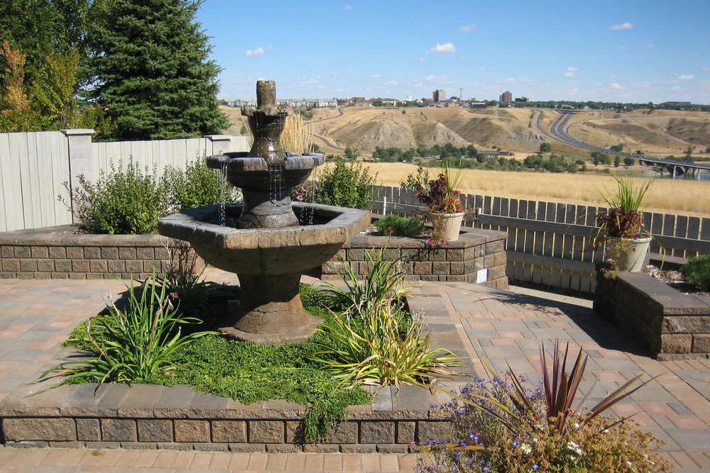 What a view! A professionally installed landscape put this property over the top.