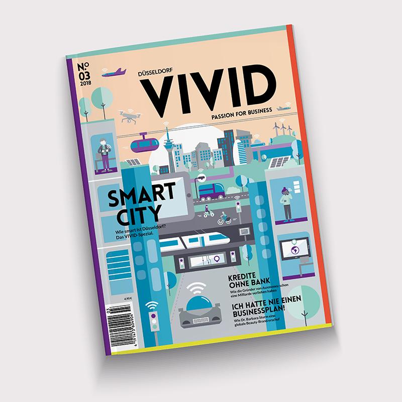VIVID - Passion for Business - VIVID ist unser Wirtschaftsmagazin. Was ist los in der Düsseldorfer Businesswelt? Agile Konzerne, die neuesten Geschäftsmodelle, Innovationen von Morgen.Kurzum: die Leute und Companies die Düsseldorf nach vorne bringen.