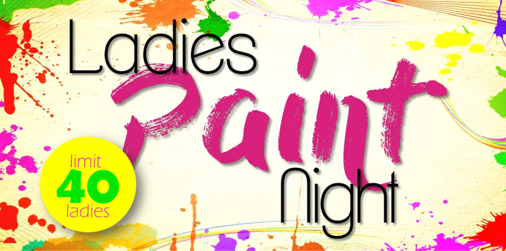 Ladies' Ministry Event  - Be sure to sign up for the