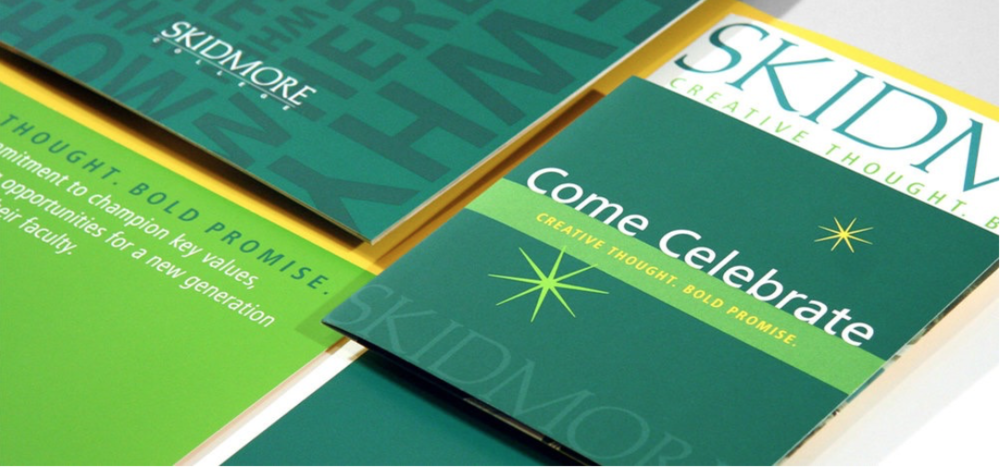 Creative Thought, Bold Promise   Campaign Identity & Promotional Materials