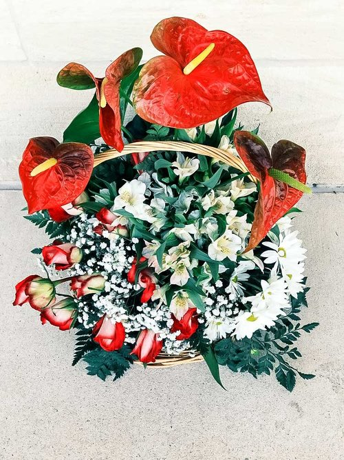 Spring mix flower arrangement nirvana flower shop spring mix flower arrangement 1 mightylinksfo