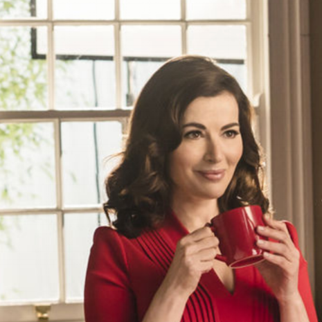 Nigella Lawson this girl is on fire