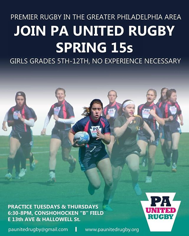 It's not too late to give rugby a try this season! Visit paunitedrugby.org for more information on how to join the fun. #rugby #hsrugby #girlswhotackle #tryonrugby