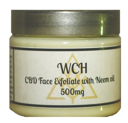 CBD Exfoliating Face Scrub with Neem Oil  from $45.00