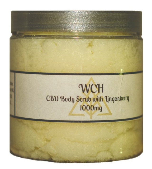 CBD Body Scrub with Lingonberry  from $50.00