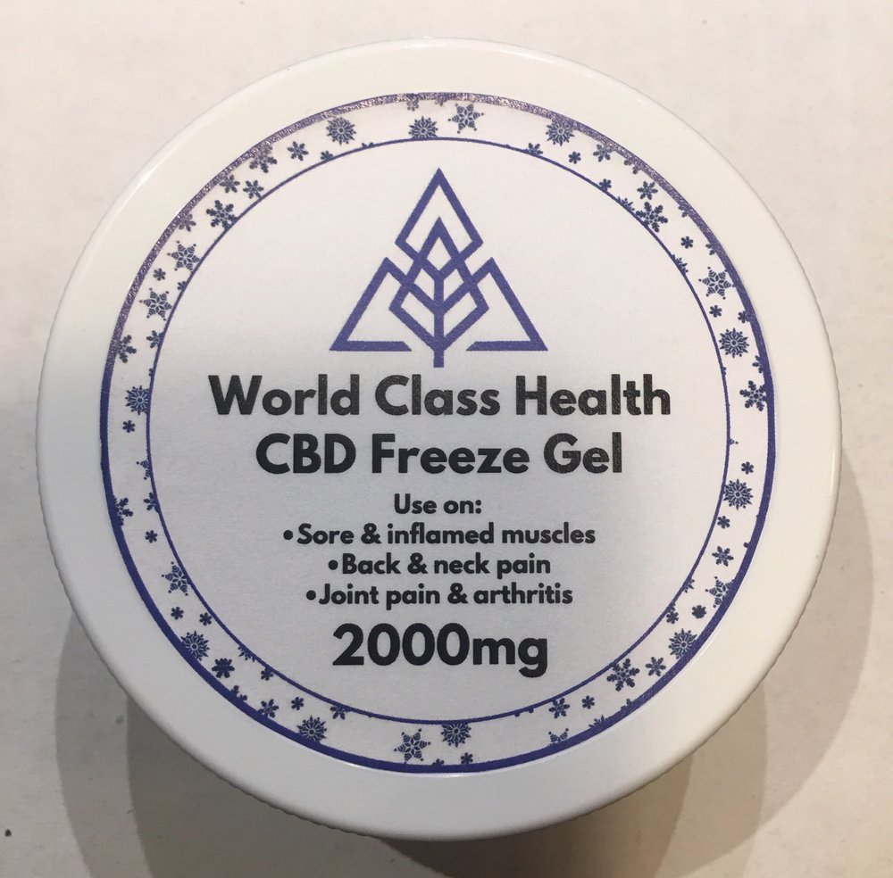 CBD Freeze Gel Topical  from $40.00