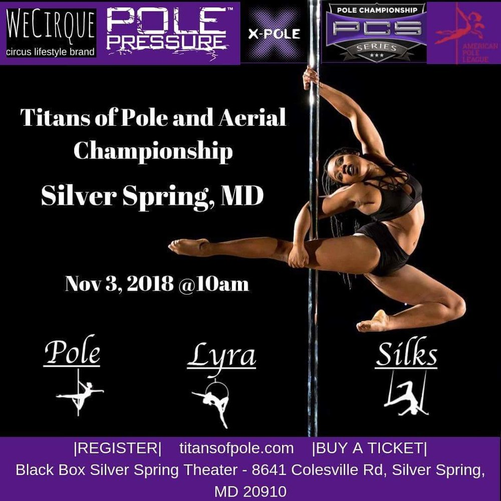 Titans of Pole and Aerial Championship