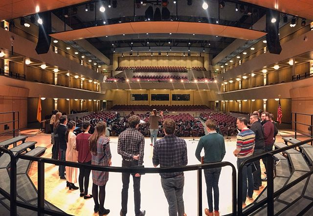 What an amazing week! Thankful to have spent it with our talented US Scholars in New Mexico, leading workshops and singing a concert together yesterday evening. Until next time! #voces8ontour #voces8scholars