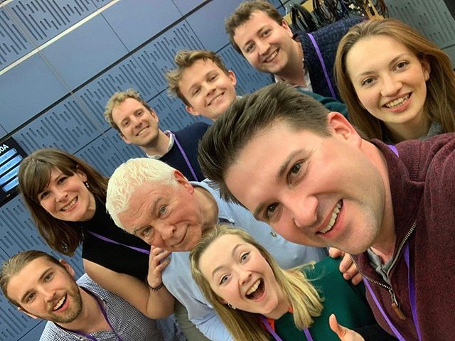 Great to be on BBC Radio 3 In Tune yesterday. Listen back to us performing some Gibbons, Weelkes, Paulus and Alexander L'Estrange's fab arrangement of 'Sway' #liveonair #voces8