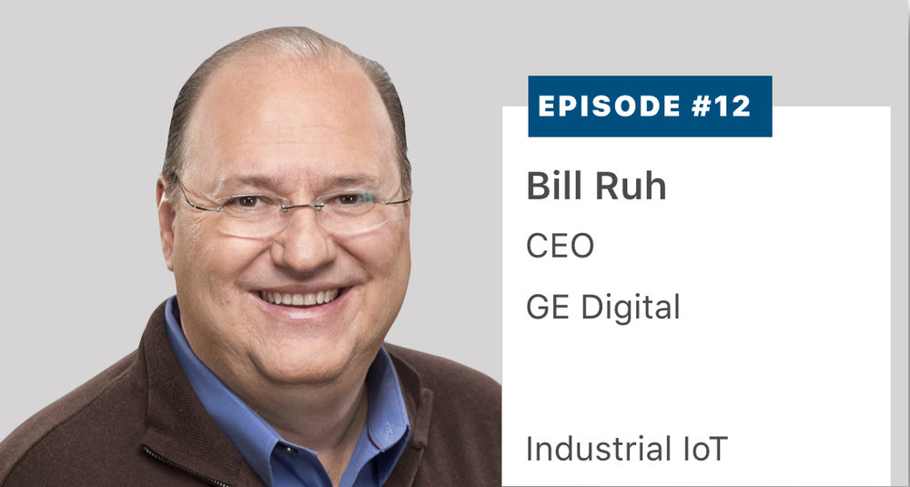 Bill Ruh, Chief Executive Officer and founding executive of  GE Digital , describes the genesis, product portfolio and lessons learned in establishing the leader in the industrial Internet of Things. Listen or read a transcript  here .