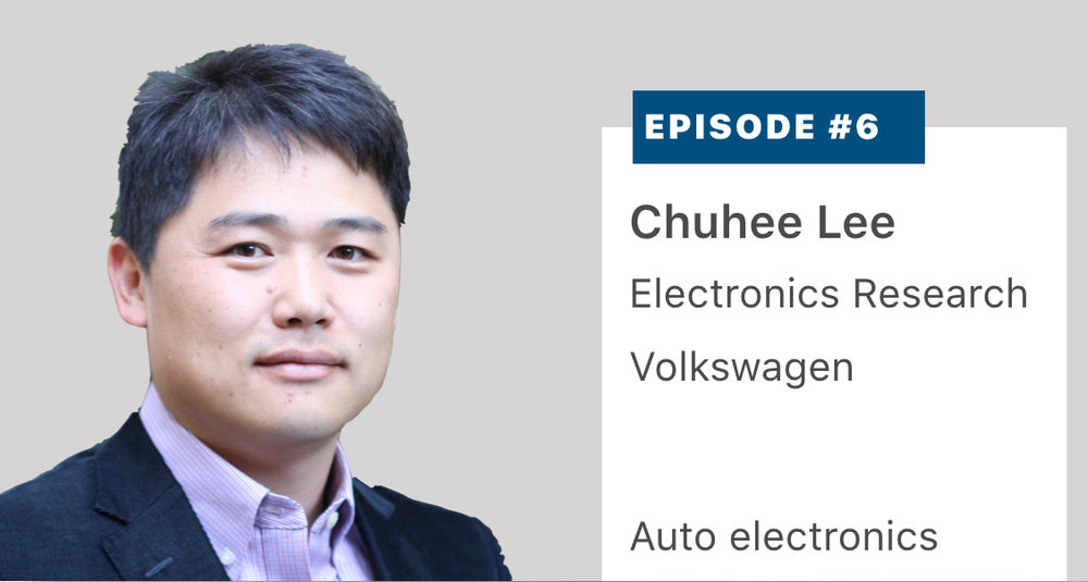 Chuhee Lee, Vice President of Technology and Strategy,  Volkswagen  Group of America's Electronic Research Laboratory, explains how his team's research influences the user experience in the 11 million vehicles that VW Group sells every year. Listen or read a transcript  here .