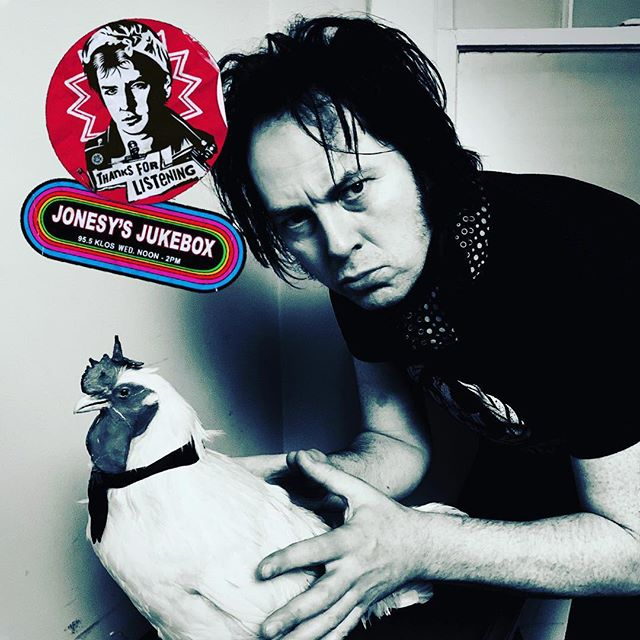HOLD ON TO YOUR COCKS! Jim Jones will be live on the air with Steve Jones tomorrow from Noon to 2pm. #jonesysjukebox #klos #keepingupwiththejoneses #jimjonesandtherighteousmind #theehypnotics #sexpistols_official