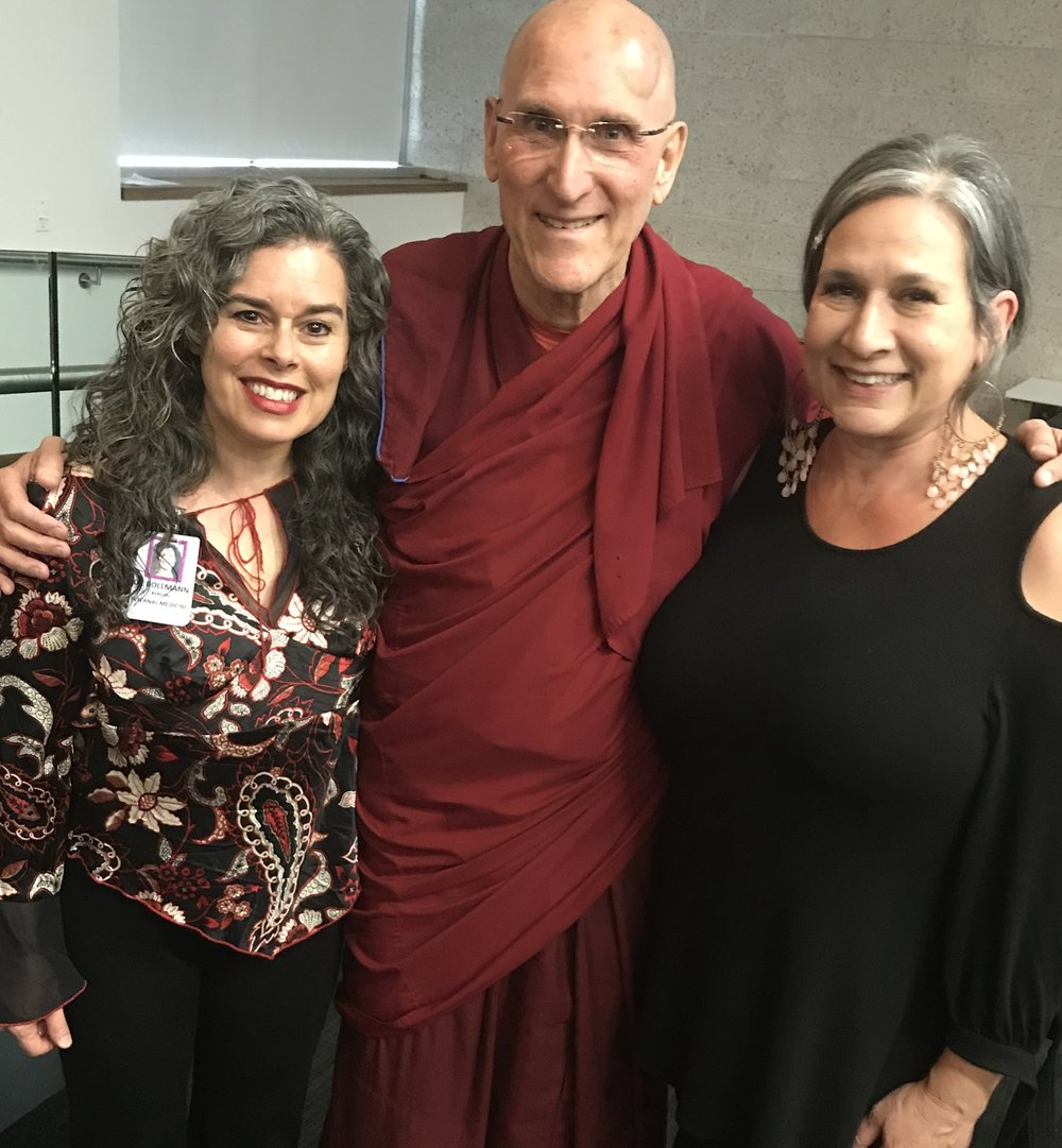 WITH  BARRY KERZIN, MD , PHYSICIAN TO THE DALAI LAMA, AND  THEA WHITE